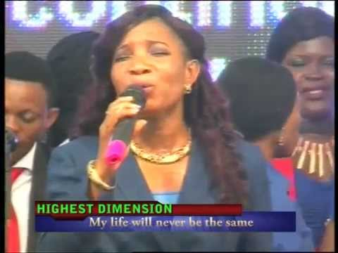Choir Ministration - My Life Will Never Be The Same