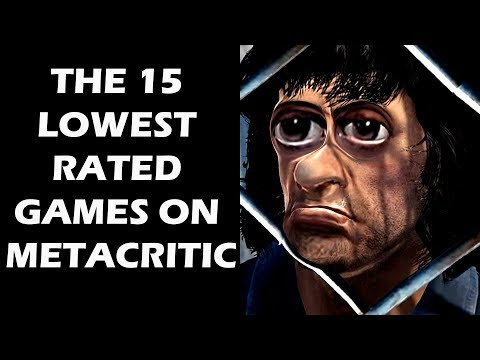 The 15 Lowest Rated Games On Metacritic