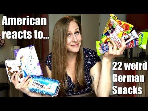 German Snacks vs US Snacks