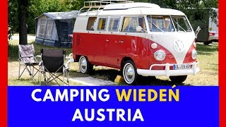 Kemping w WIEDNIU | Neue Donau | Recenzja