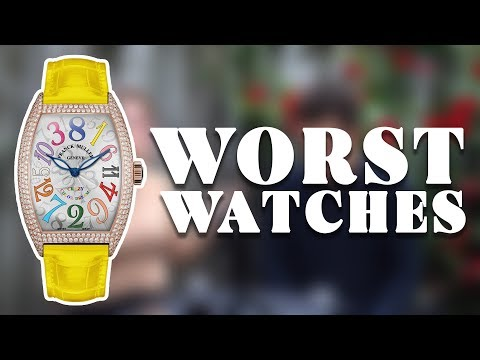The WORST Luxury Watches // RANT&H