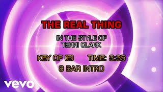 Watch Terri Clark The Real Thing video