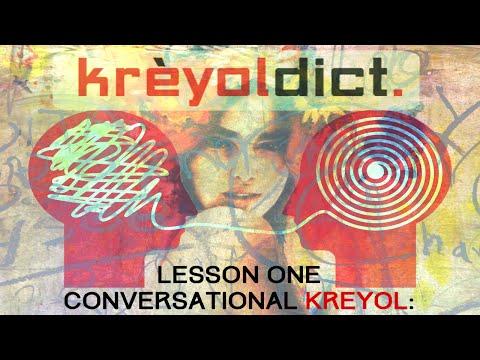 KreyolDict | Haitian Creole Conversation: Lesson 1