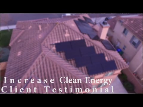 Increase Clean Energy Solar and Air Conditioning, Client Testimonial Jason Colburn from Oceanside CA