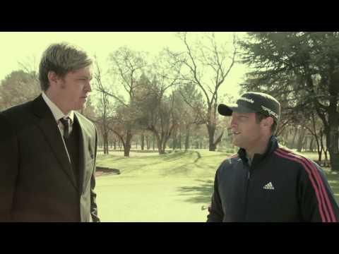 Cricket guy in a suit with Roelof van der Merwe