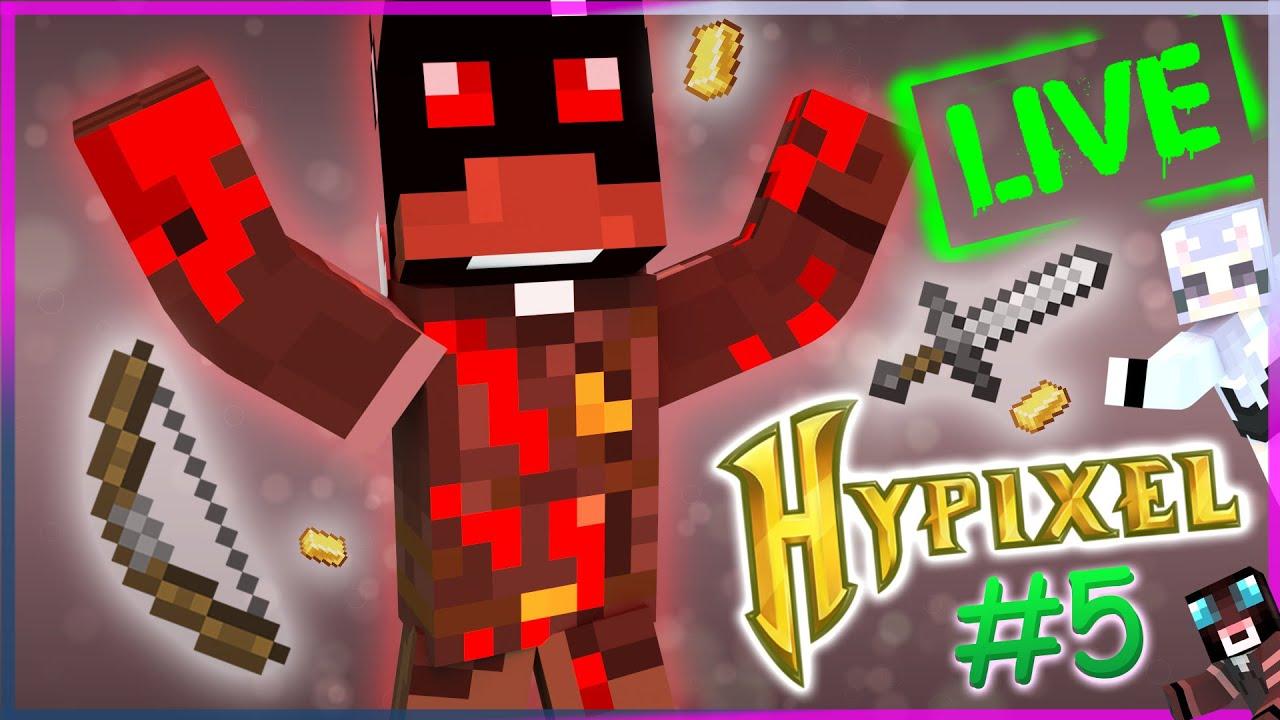Minecraft murder mystery на hypixel l Запись со стрима #5