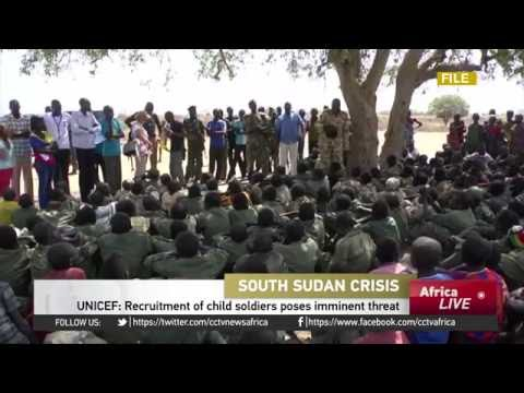 Recruitment of child soldiers in South Sudan poses imminent threat