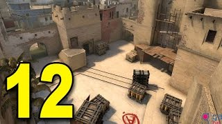 CS:GO - Part 12 - Close one on Mirage (CounterStrike: Global Offensive Gameplay)