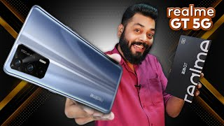 realme GT Unboxing And First Impressions⚡120Hz Screen, SD 888 & More | Performance Powerhouse But...