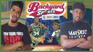 ARE YOU SERIOUS!? WHAT A FINISH!! - Backyard Basketball | #ThrowbackThursday