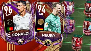 96 OVR Ronaldo Gameplay on FIFA Mobile 20! Full Lunar New Year Squad Featuring Arthur and Neuer