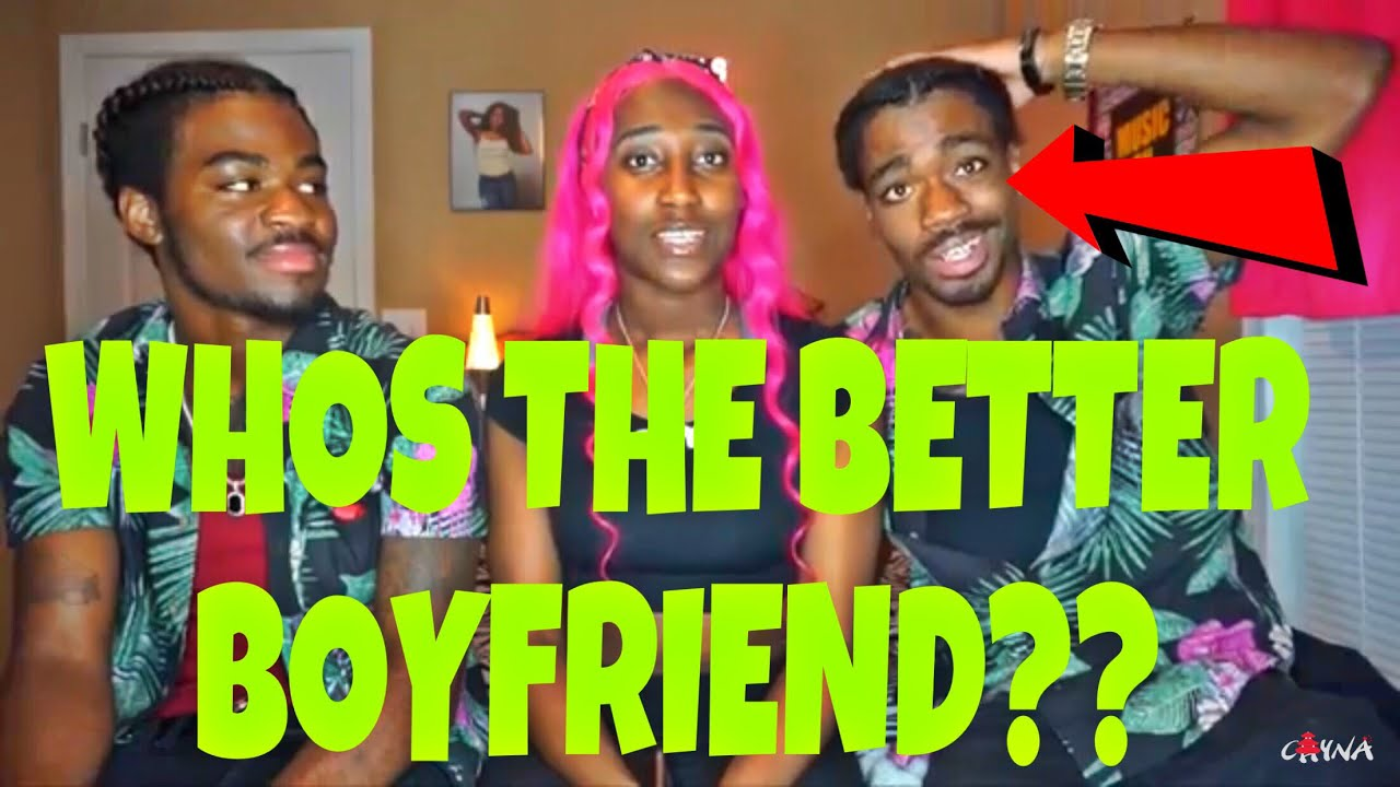 WHOS THE BETTER BOYFRIEND?? (TWINS EDITION!!!)