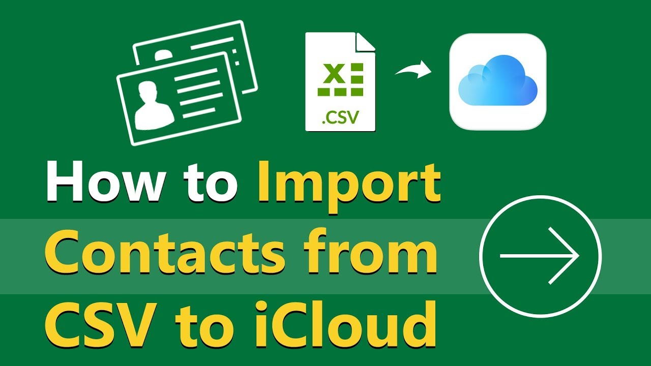 How to Import CSV Contacts to iCloud Online Guide