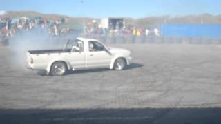 WINDHOEK STREET RACERS KING OF SPIN/ROUND 2/ Ford Ranger with V8 Engine