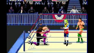 Mega Drive Longplay [289] WWF Wrestlemania Arcade