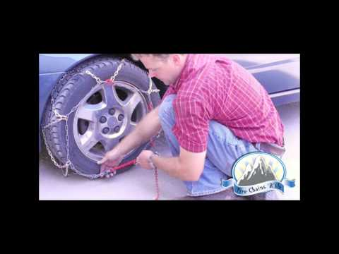 How to Install Passenger Grip Car Tire Chains