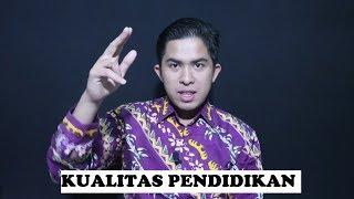 Alasan Rendahnya Kualitas Pendidikan di Indonesia!