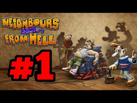 NEW SERIES!!Classic Game, Neighbours Back From Hell - Ep 1 |