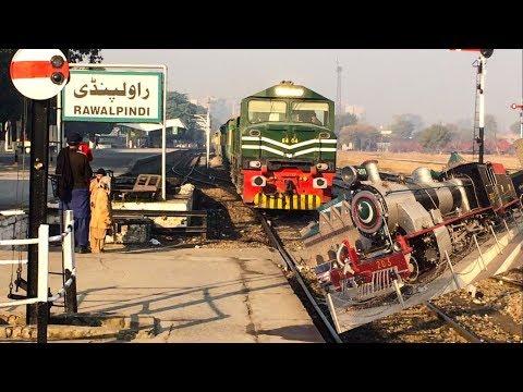 Steam Locomotive At Rawalpindi | Jaffar Express Arrival with ZCU-20 | Pakistan Railways