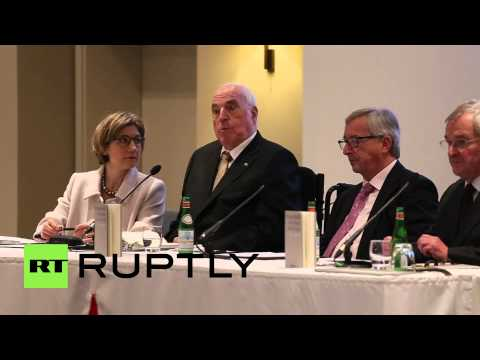 Germany: Kohl comments on Putin at Frankfurt book launch