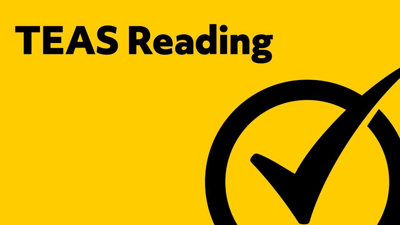 Free TEAS Test Reading Study Guide