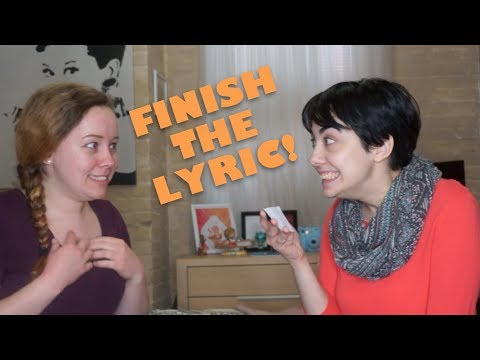 Finish the Broadway Lyric! (Hamilton, RENT, Wicked, & more!)