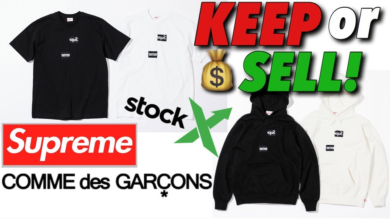3599c74d Keep Or Sell - Supreme CDG Week 4 Drop On StockX - YouTube