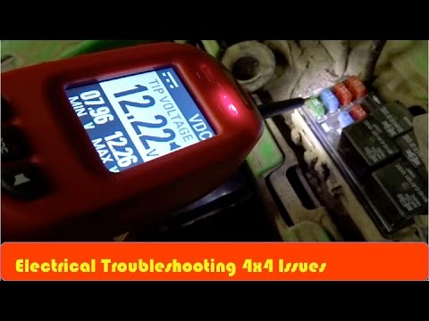 ATV 4x4 Not Working Electrical Troubleshooting - YouTube