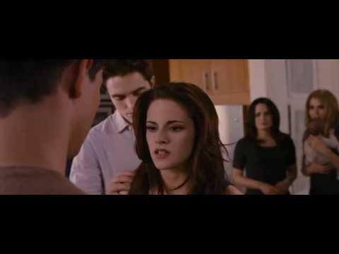 The Twilight Saga Breaking Dawn Part 2 - Bella Beats Jacob