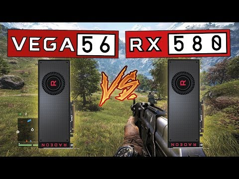 Rx Vega 56 Vs Rx 580 Full Comparison 4k 1440p 1080p Youtube