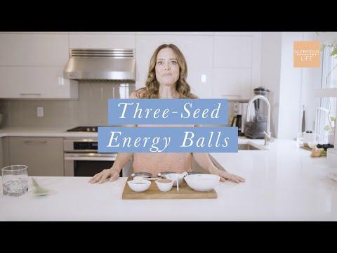 Three Seed Energy Ball Recipe