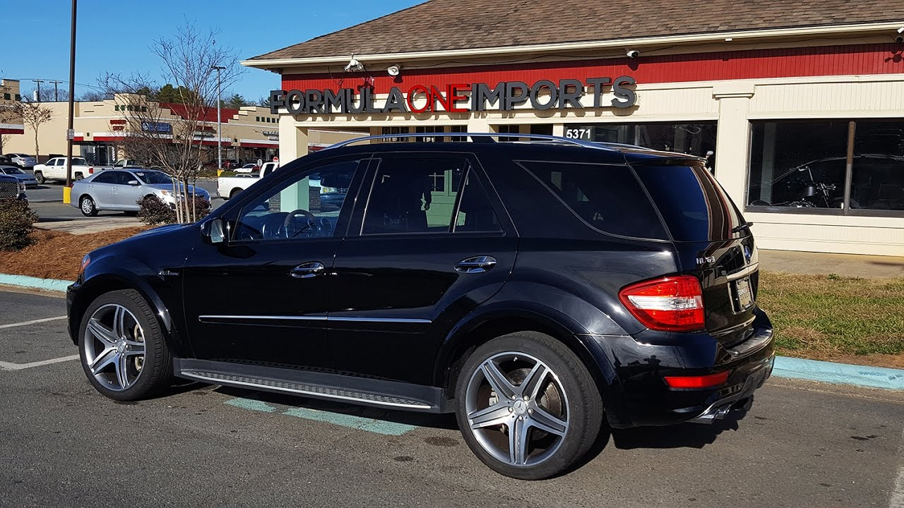 2010 Mercedes Benz Ml63 Amg For Sale Formula One Imports