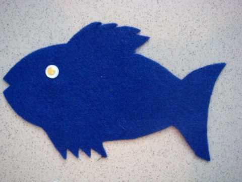 子供英語のうた(Slippery Fish)