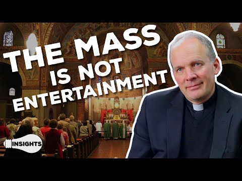Learning to Experience God at Mass - Fr. Scott Borgman