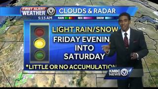 Sunshine, highs in the 40s for Christmas Day