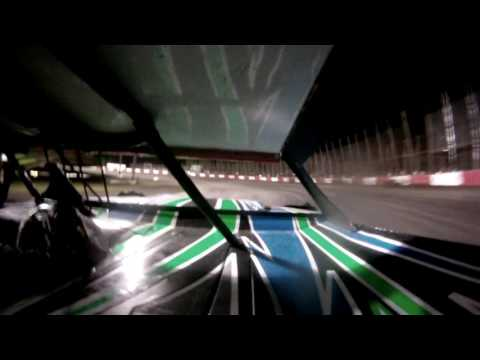 Lakeside Speedway Grand Nation A Main in-car camera - Nick Newton 4/21/17