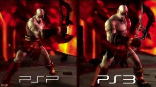 God of War: Origins Collection - PSP versus PS3
