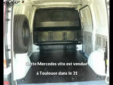 mercedes vito occasion visible toulouse pr sent e par cjc utilitaire youtube. Black Bedroom Furniture Sets. Home Design Ideas