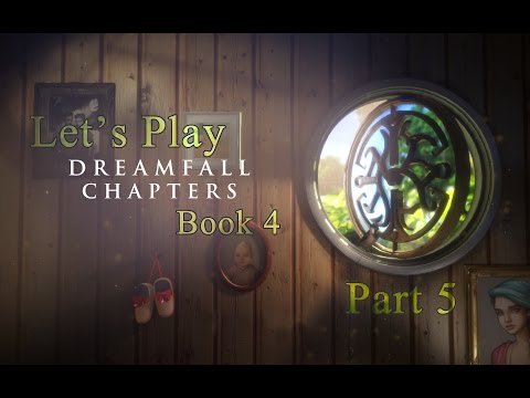 Let's Play Dreamfall Chapters Book 4 part 5 - The Administrator