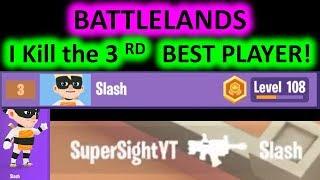 BATTLELANDS Royale - I KlLLED the 3rd BEST player, Slash!