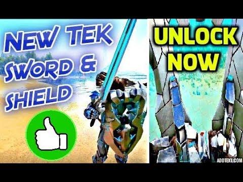Ark survival new tek tier sword and shield how to unlock it ark survival new tek tier sword and shield how to unlock it malvernweather Gallery