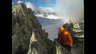 Climbing Mont Blanc GoPro