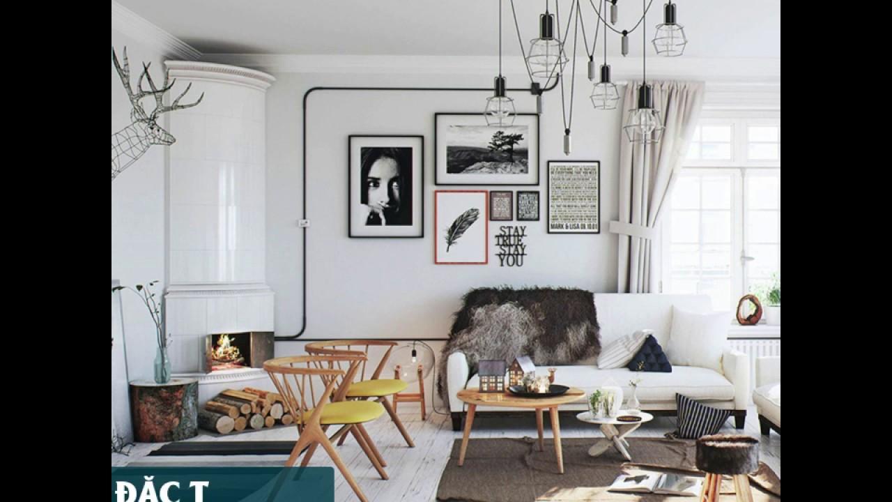 Thiết kế phòng khách đẹp như thế nào? Cách trang trí phòng khách mới nhất