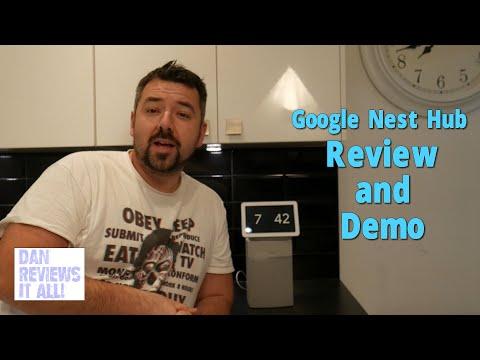 Google Home Hub / Google Nest Hub Review and Demo