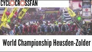 Cyclocross 2016| World Championship Heusden-Zolder| Men