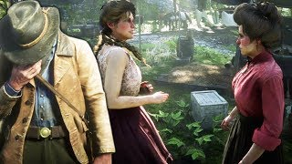 RDR2 Mary-Beth VS Susan Grimshaw (Time is Bit Beyond Arthur) - Red Dead Redemption 2
