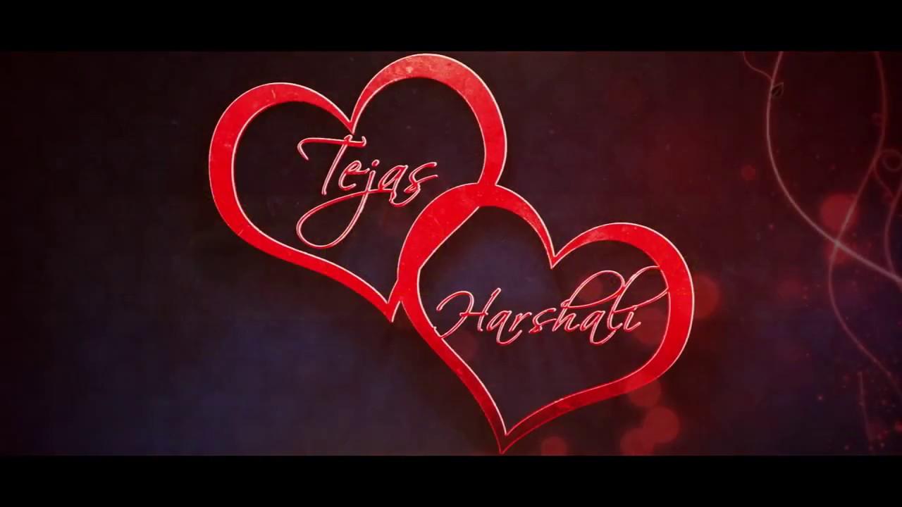 Best Wedding invitation Tejas & Harshali - YouTube