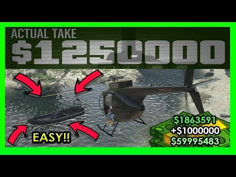 GTA 5 Pacific Standard Heist Glitch With Helicopter (UPDATE METHOD 1 41)