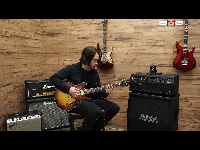 Mesa/Boogie Throttle Box Distortion Demo