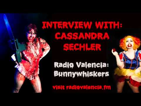 Radio Valencia podcast (Bunnywhiskers): Interview with Cassandra Sechler 2014